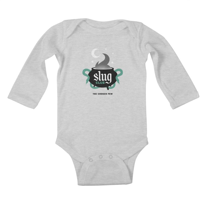 Slug Club Kids Baby Longsleeve Bodysuit by Gurven Designs
