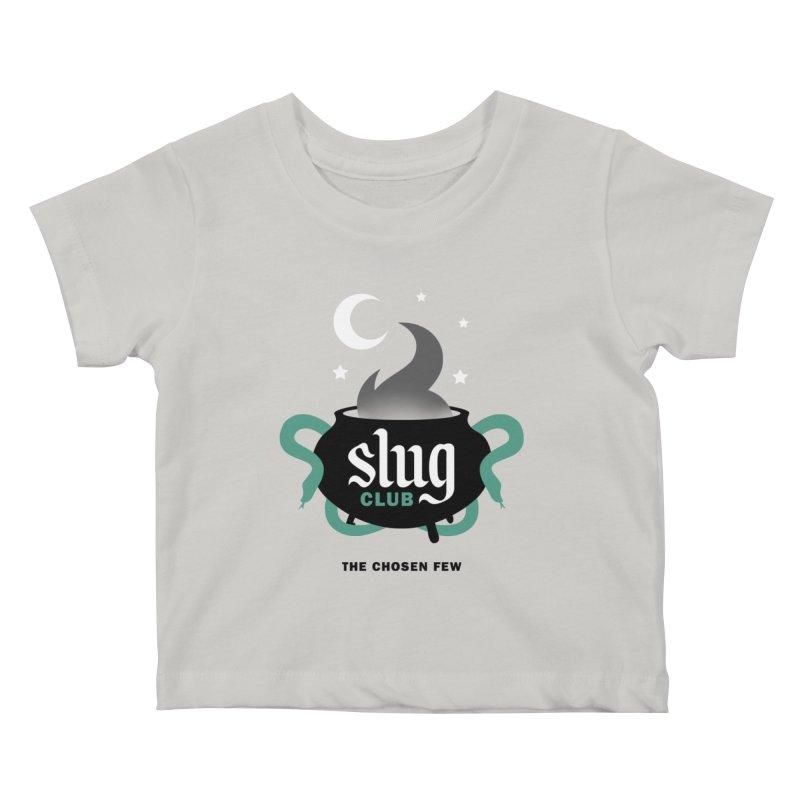 Slug Club Kids Baby T-Shirt by Gurven Designs