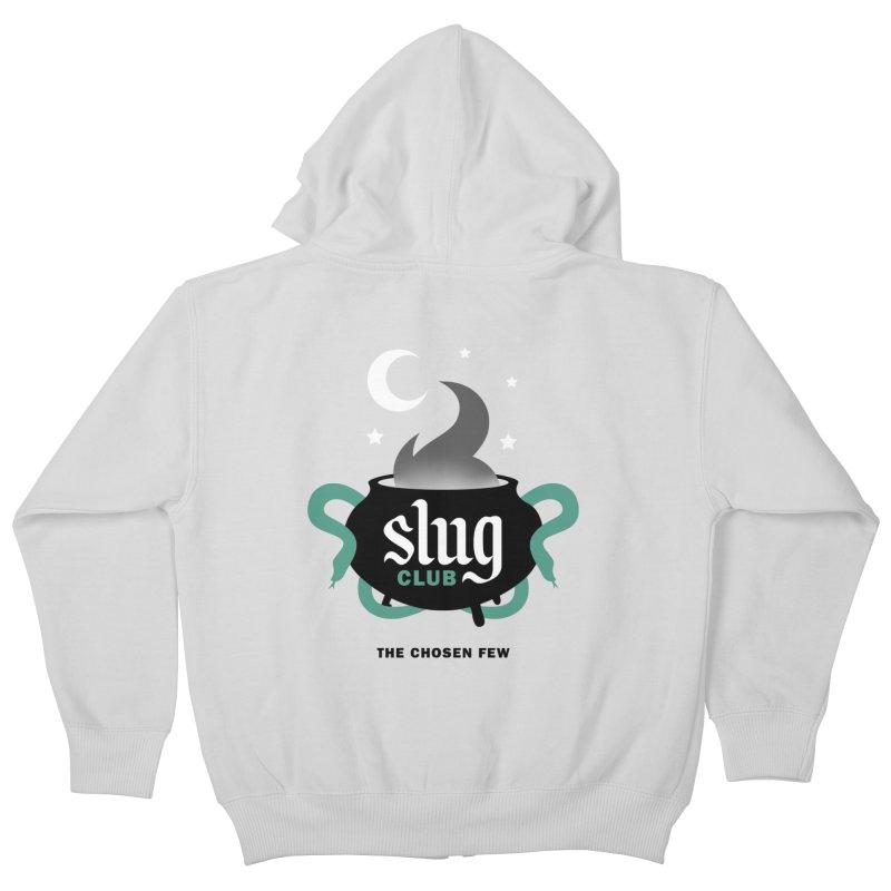 Slug Club Kids Zip-Up Hoody by Gurven Designs