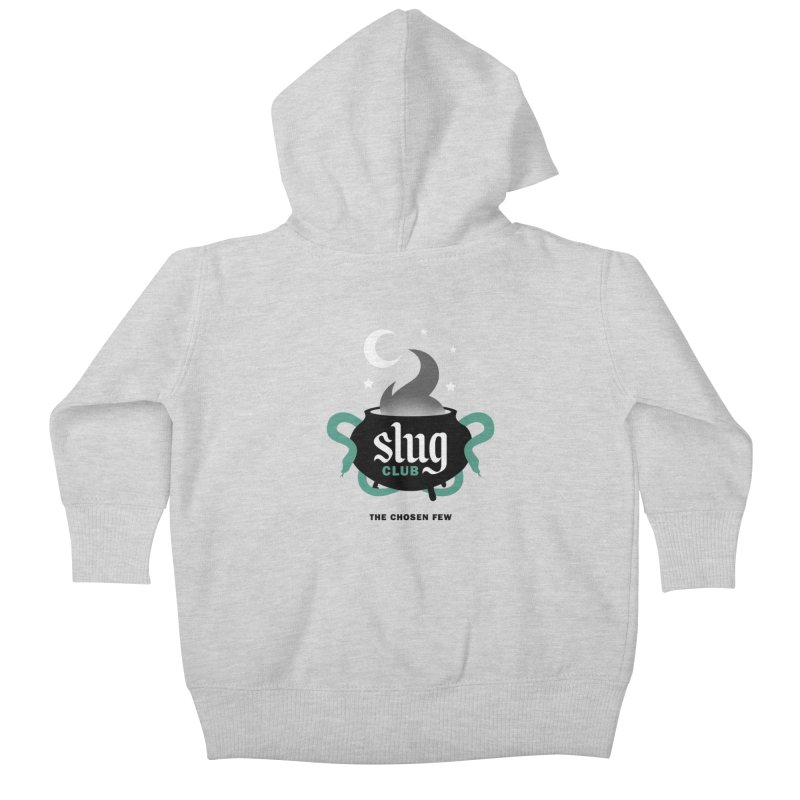 Slug Club Kids Baby Zip-Up Hoody by Gurven Designs