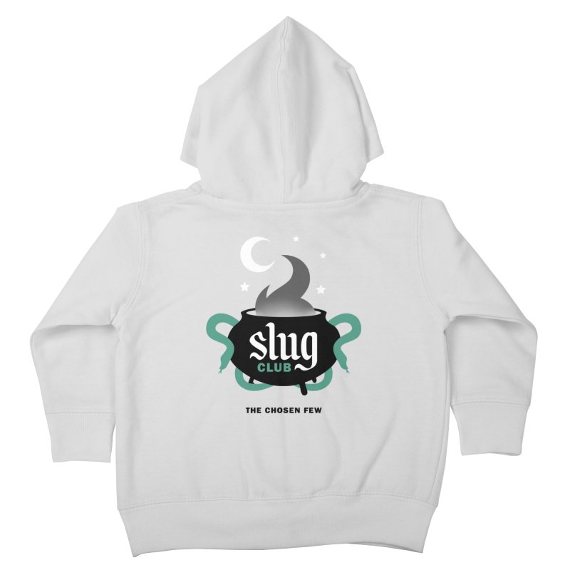 Slug Club Kids Toddler Zip-Up Hoody by Gurven Designs