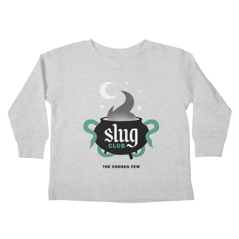 Slug Club Kids Toddler Longsleeve T-Shirt by Gurven Designs