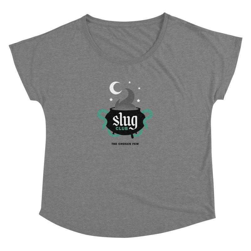 Slug Club Women's Scoop Neck by Gurven Designs