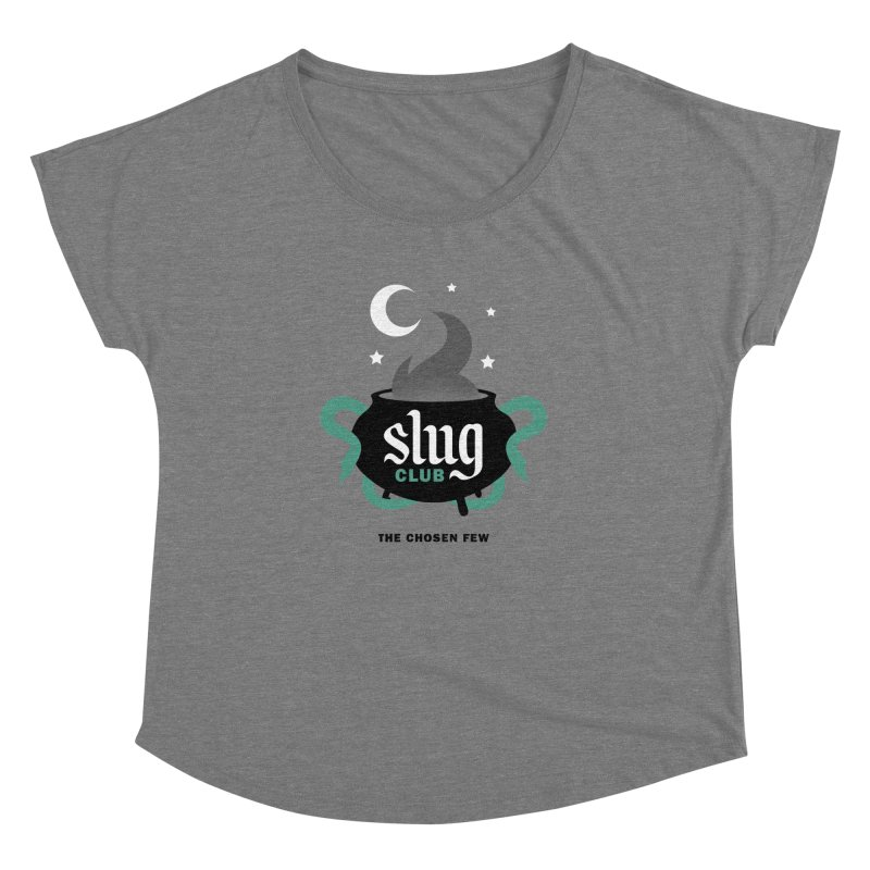 Slug Club Women's Dolman Scoop Neck by Gurven Designs
