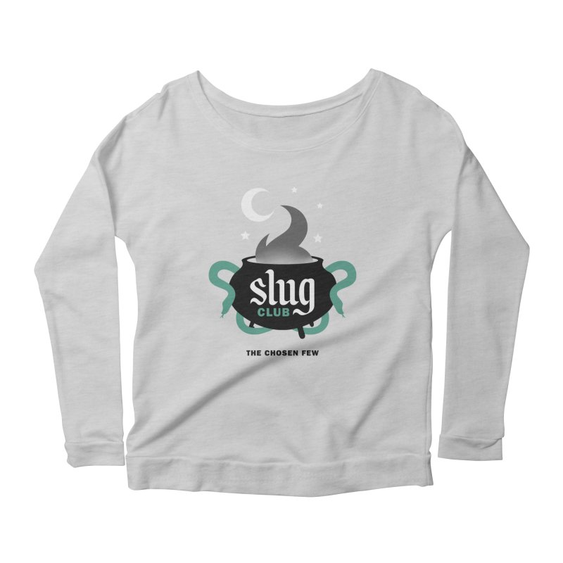 Slug Club Women's Longsleeve Scoopneck  by Gurven Designs