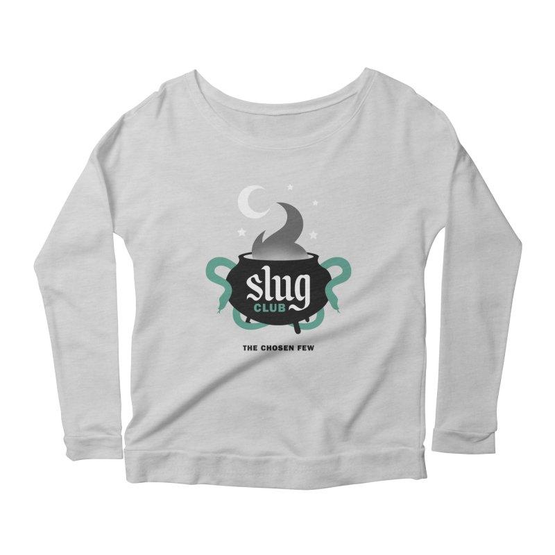Slug Club Women's Scoop Neck Longsleeve T-Shirt by Gurven Designs
