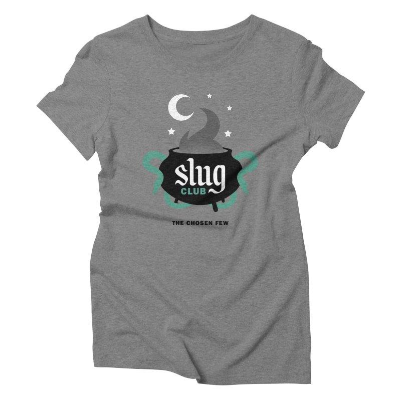 Slug Club Women's Triblend T-Shirt by Gurven Designs