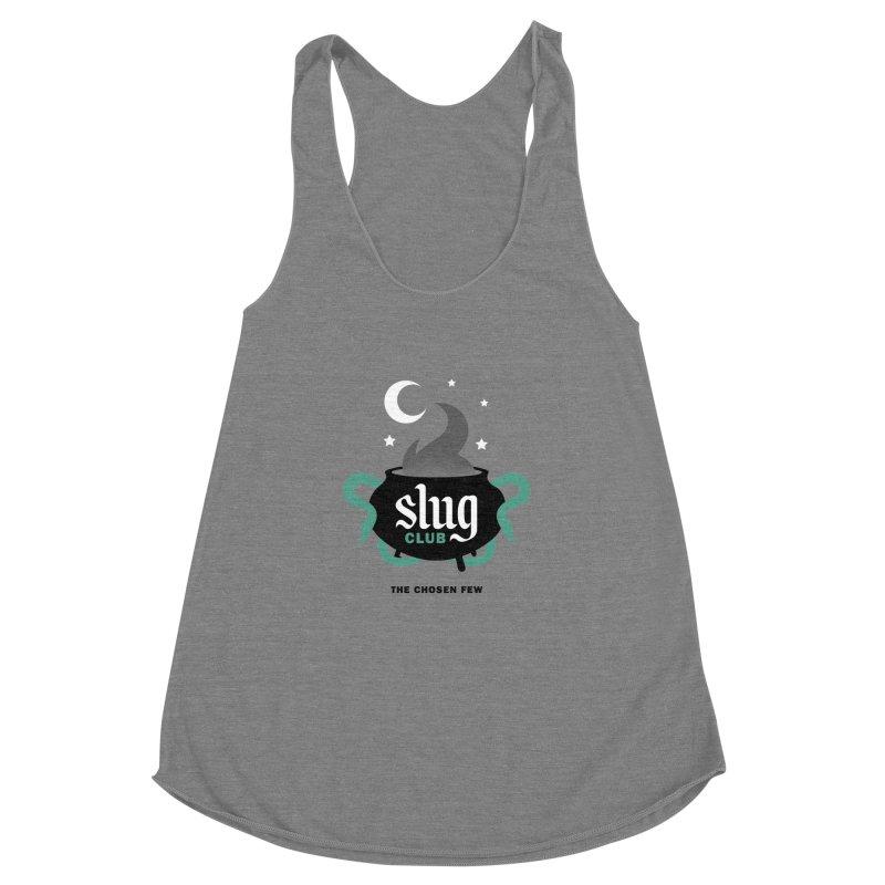 Slug Club Women's Racerback Triblend Tank by Gurven Designs