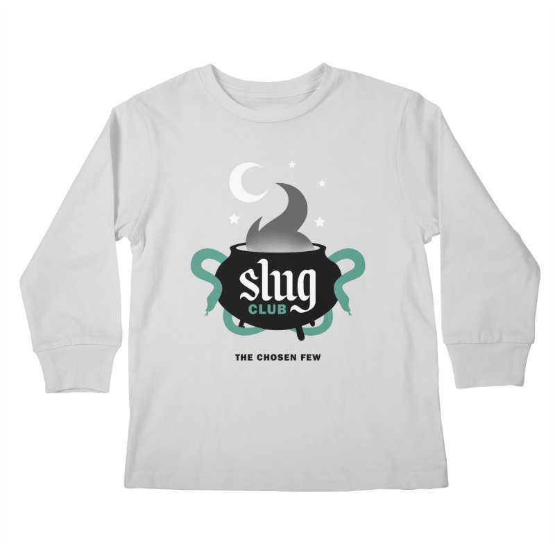 Slug Club Kids Longsleeve T-Shirt by Gurven Designs