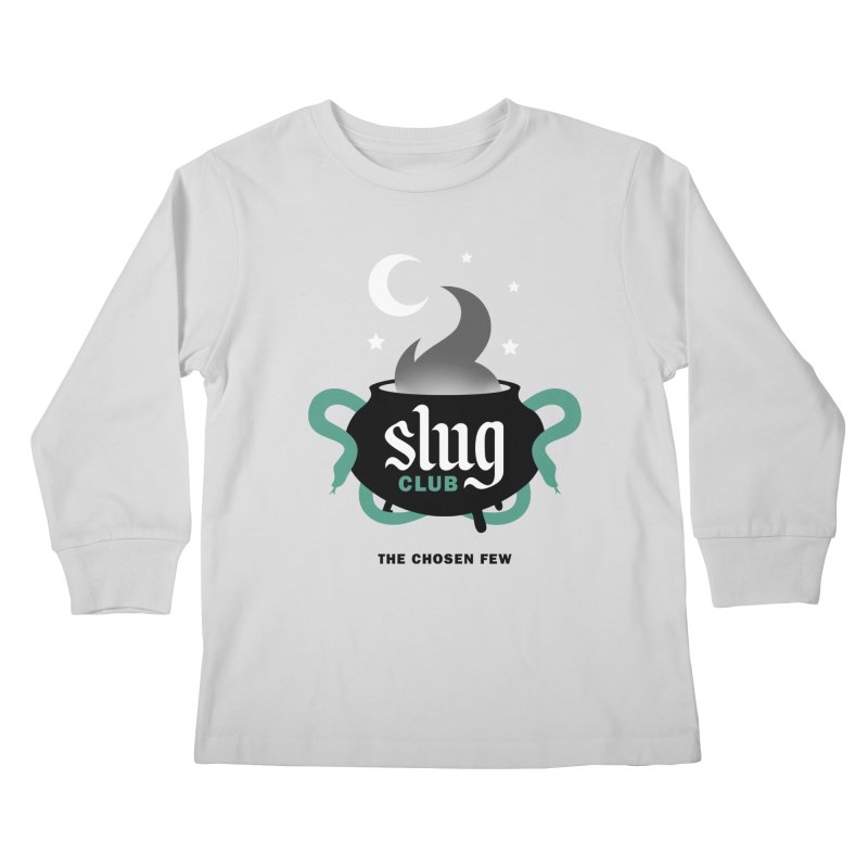 Slug Club Kids Longsleeve T-Shirt by Gurven Designs