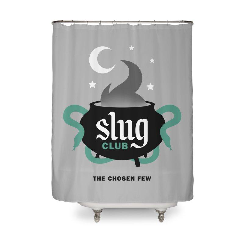 Slug Club Home Shower Curtain by Gurven Designs