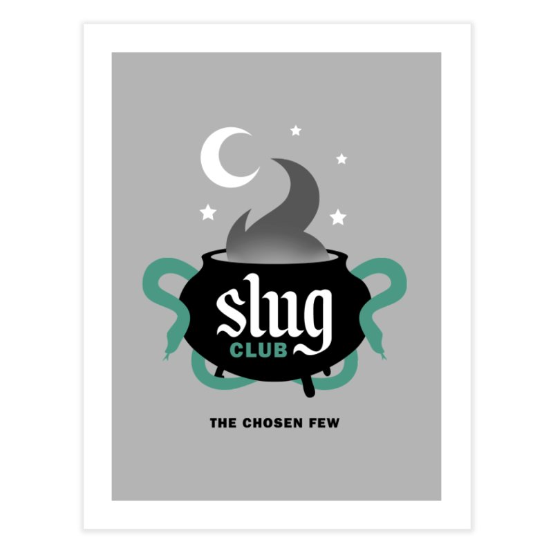 Slug Club Home Fine Art Print by Gurven Designs