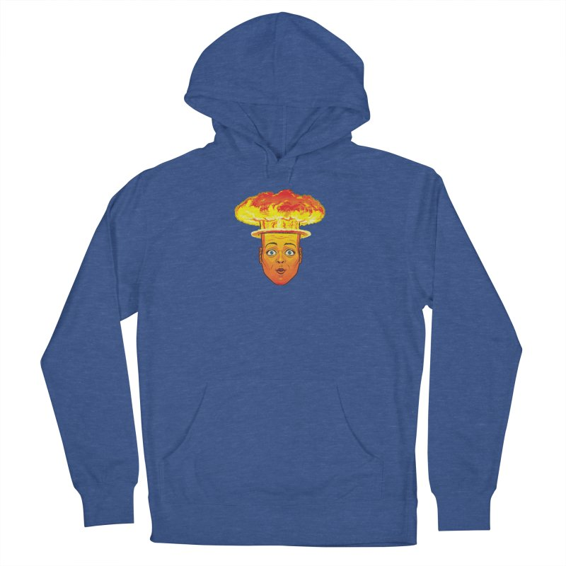 Atomic Head Women's Pullover Hoody by guy's Artist Shop