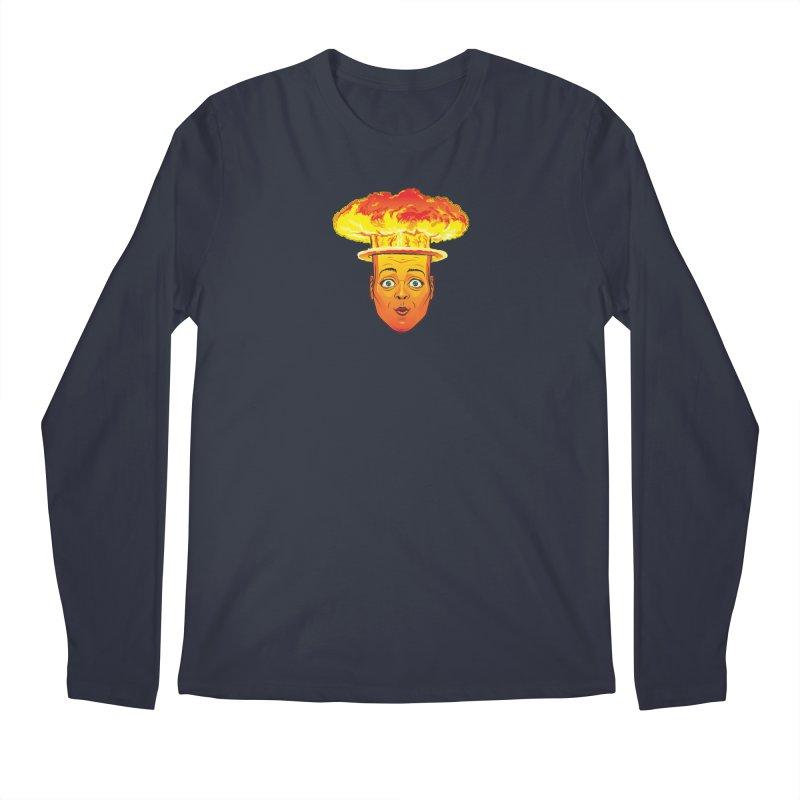 Atomic Head Men's Longsleeve T-Shirt by guy's Artist Shop