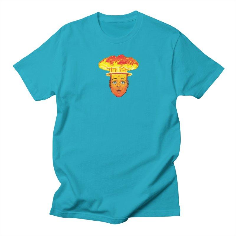Atomic Head Men's T-shirt by guy's Artist Shop