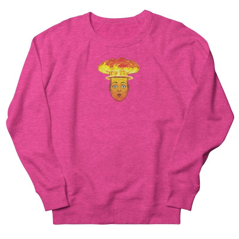 Atomic Head Women's Sweatshirt by guy's Artist Shop