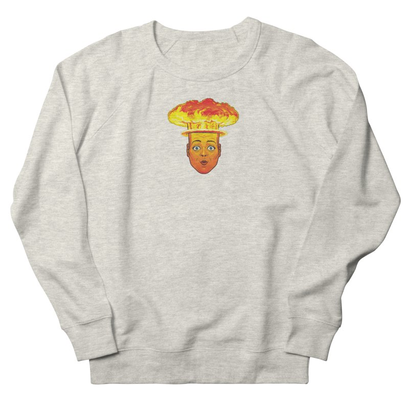 Atomic Head Men's Sweatshirt by guy's Artist Shop