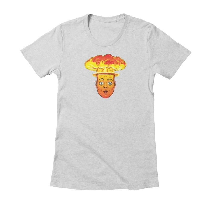 Atomic Head Women's T-Shirt by guy's Artist Shop