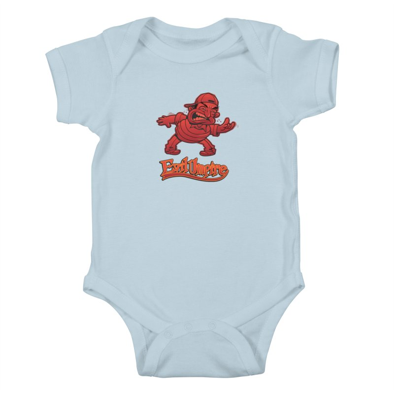 Evil Umpire Kids Baby Bodysuit by guy's Artist Shop