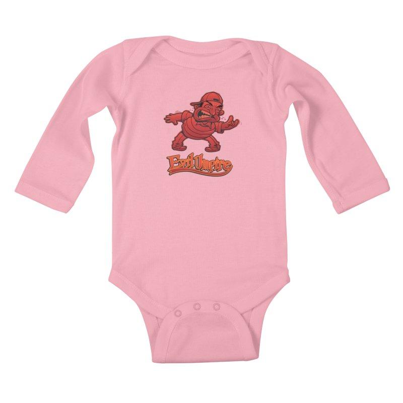 Evil Umpire Kids Baby Longsleeve Bodysuit by guy's Artist Shop