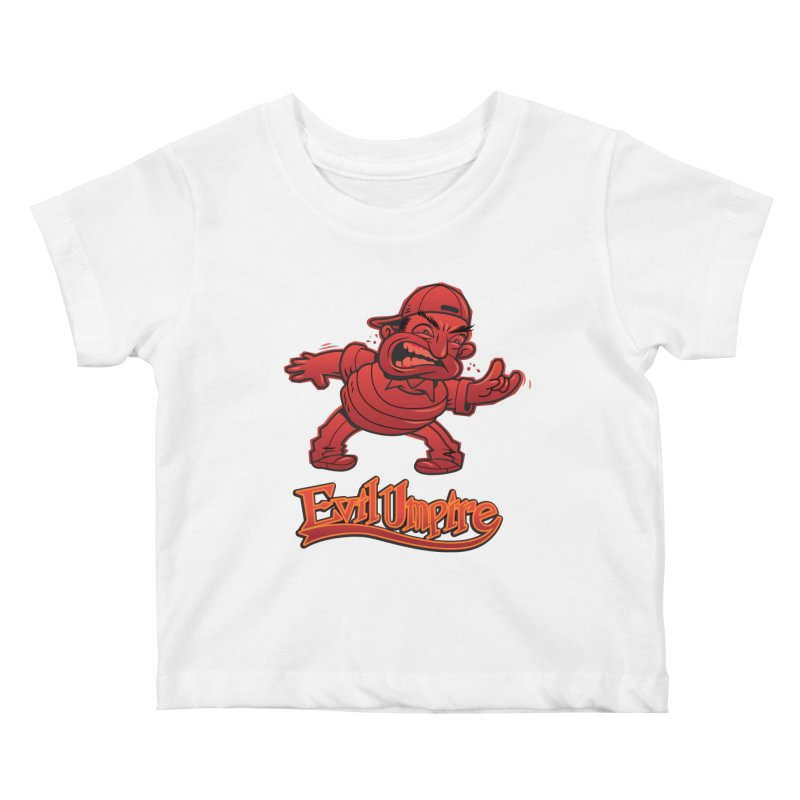 Evil Umpire Kids Baby T-Shirt by guy's Artist Shop