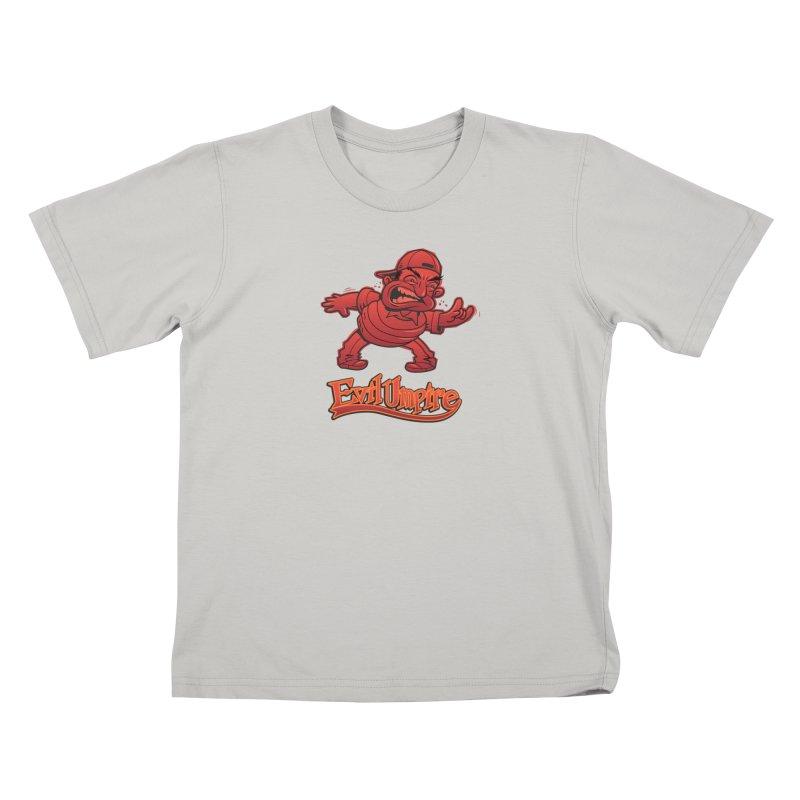 Evil Umpire Kids T-Shirt by guy's Artist Shop