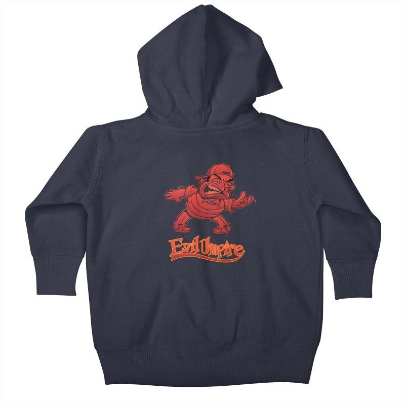 Evil Umpire Kids Baby Zip-Up Hoody by guy's Artist Shop
