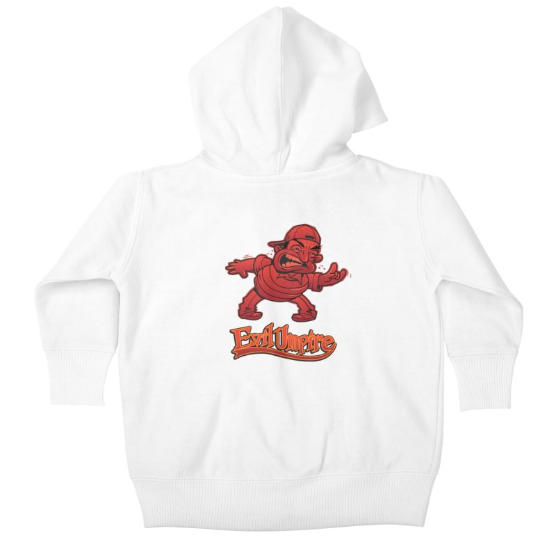 Evil Umpire Kids Baby Zip-Up Hoody by guy's Artist Shop