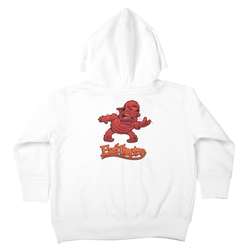 Evil Umpire Kids Toddler Zip-Up Hoody by guy's Artist Shop