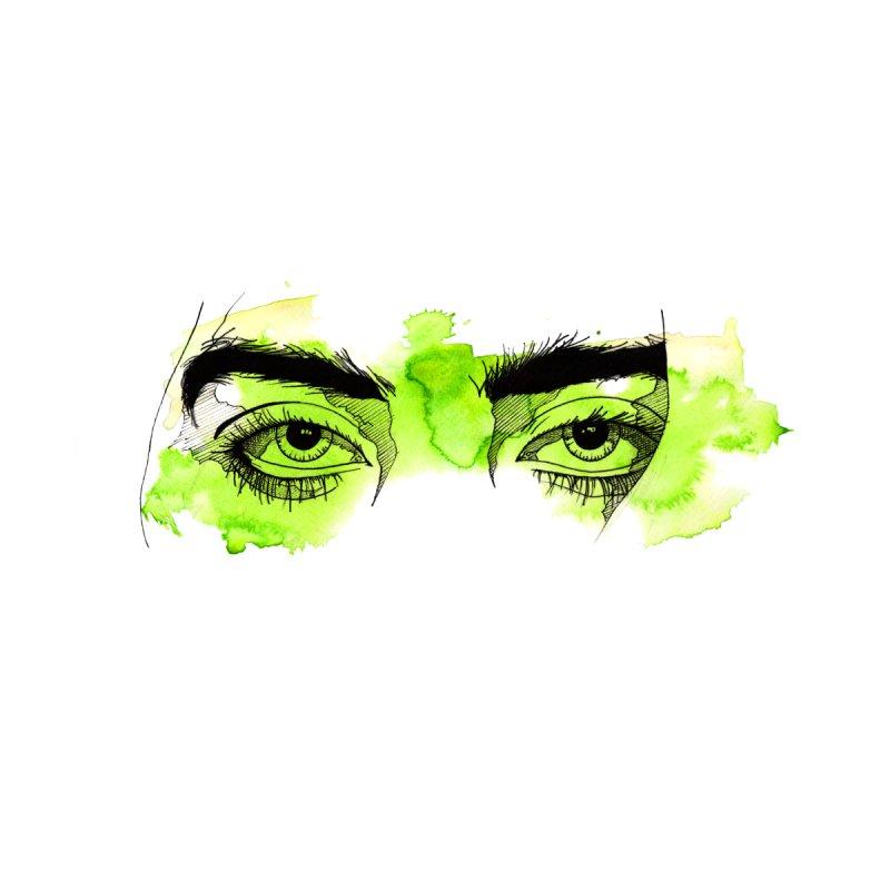 Billie Eilish eyes Accessories Skateboard by gyart's Artist Shop