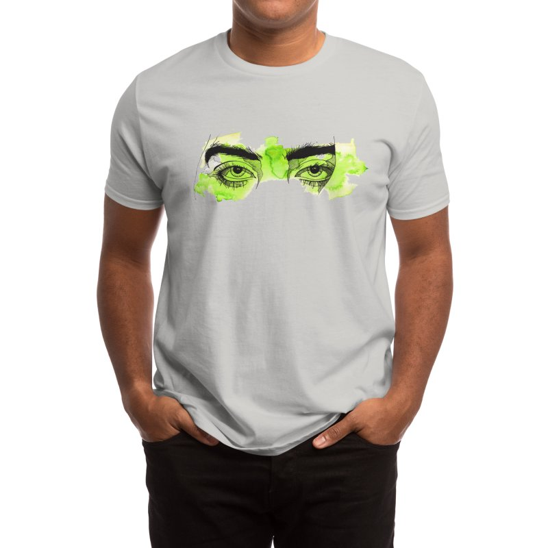 Billie Eilish eyes Men's T-Shirt by gyart's Artist Shop