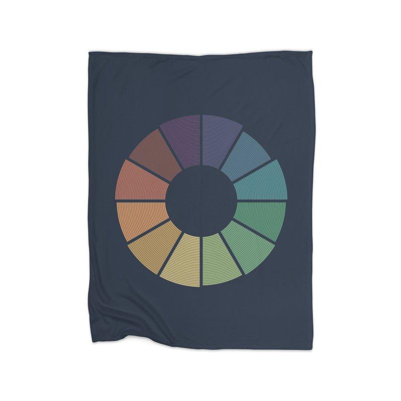 Minimalist Julian Calendar Home Fleece Blanket Blanket by Gyledesigns' Artist Shop