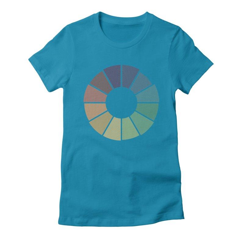 Minimalist Julian Calendar Women's Fitted T-Shirt by Gyledesigns' Artist Shop