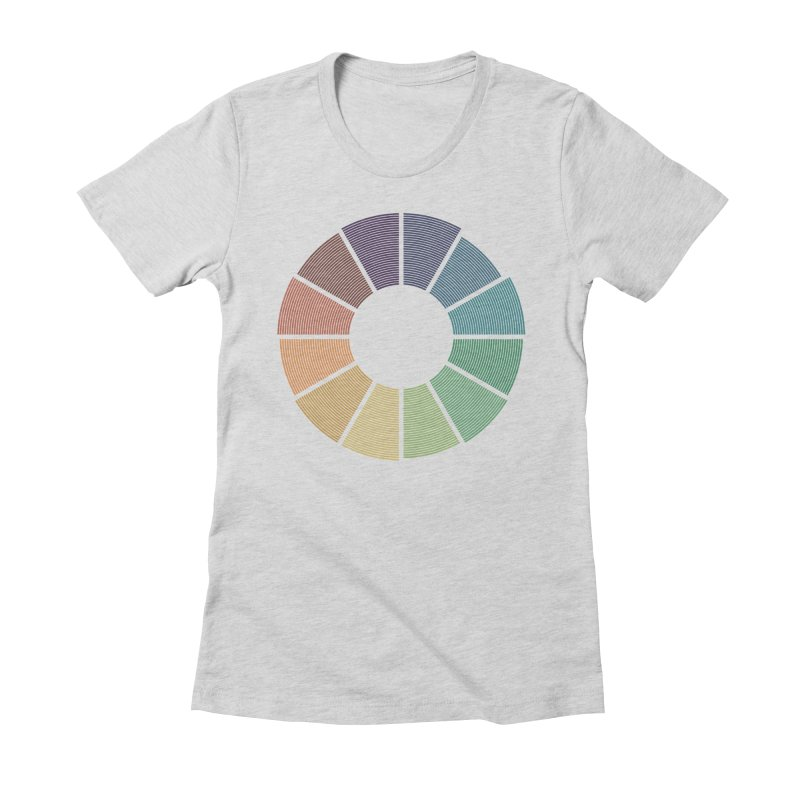Minimalist Julian Calendar Women's Fitted T-Shirt by Gyledesigns' Artist Shop