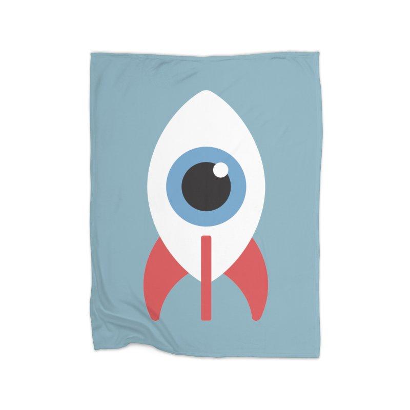 Eye on the Sky Home Fleece Blanket Blanket by Gyledesigns' Artist Shop