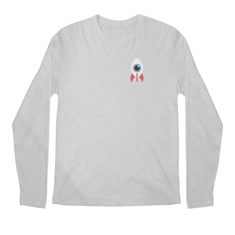 Eye on the Sky Chest Logo Men's Regular Longsleeve T-Shirt by Gyledesigns' Artist Shop