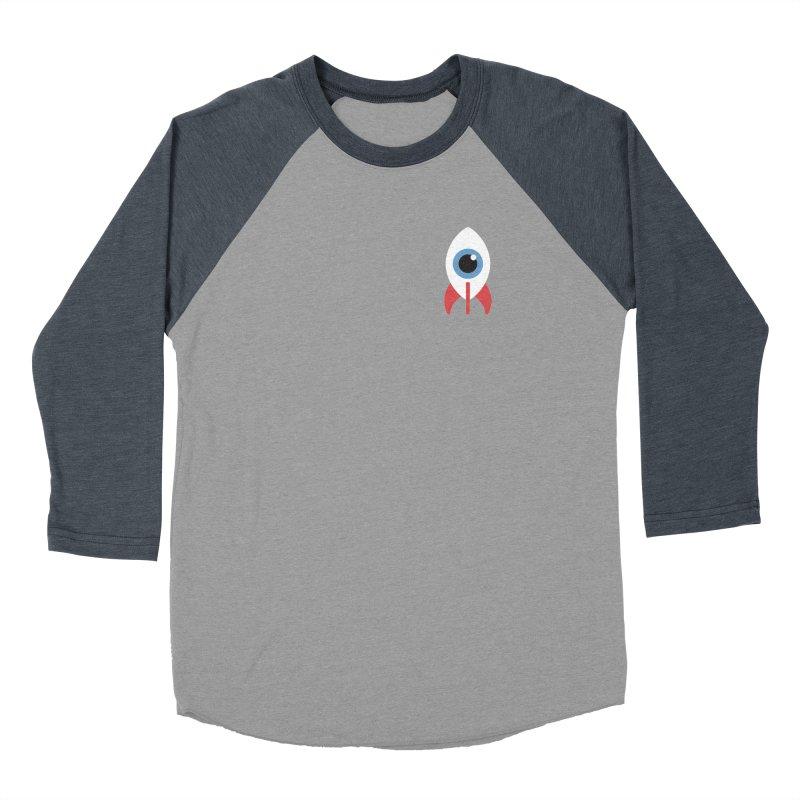 Eye on the Sky Chest Logo Men's Baseball Triblend T-Shirt by Gyledesigns' Artist Shop