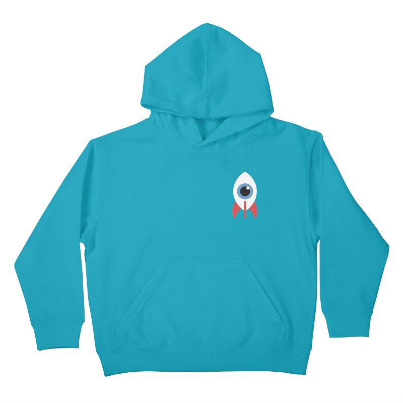 Eye on the Sky Chest Logo Kids Pullover Hoody by Gyledesigns' Artist Shop