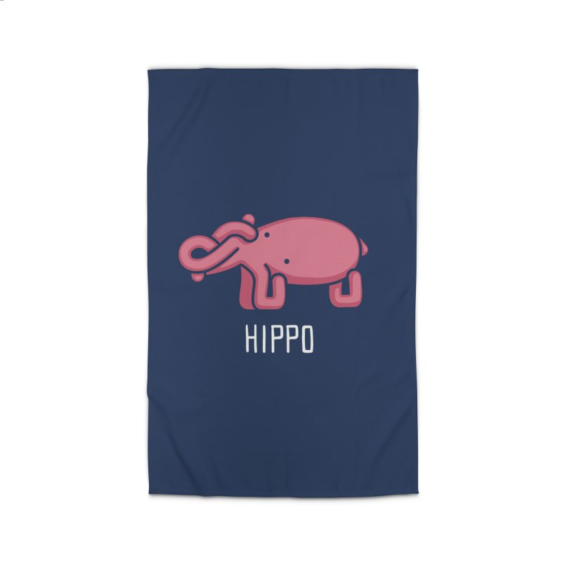 Hippo (Not an Octopus) Home Rug by Gyledesigns' Artist Shop