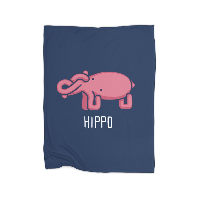 Hippo (Not an Octopus) Home Blanket by Gyledesigns' Artist Shop