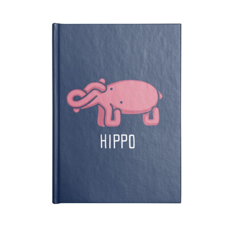 Hippo (Not an Octopus) Accessories Notebook by Gyledesigns' Artist Shop
