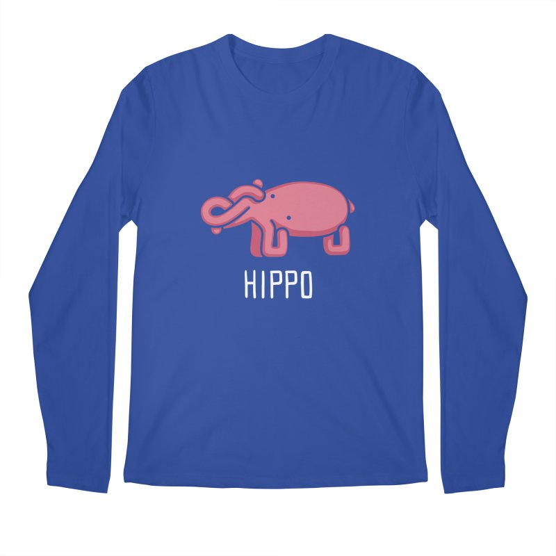 Hippo (Not an Octopus) Men's Longsleeve T-Shirt by Gyledesigns' Artist Shop