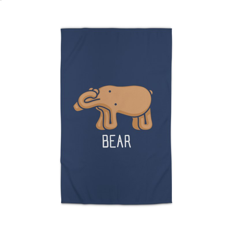 Bear (Not an Octopus) Home Rug by Gyledesigns' Artist Shop