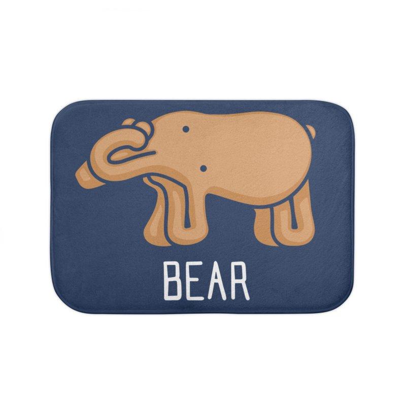 Bear (Not an Octopus) Home Bath Mat by Gyledesigns' Artist Shop