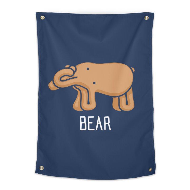 Bear (Not an Octopus) Home Tapestry by Gyledesigns' Artist Shop