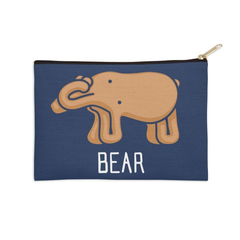 Bear (Not an Octopus) Accessories Zip Pouch by Gyledesigns' Artist Shop