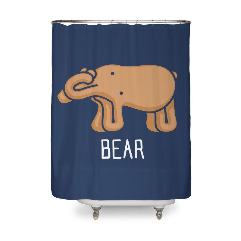 Bear (Not an Octopus) Home Shower Curtain by Gyledesigns' Artist Shop
