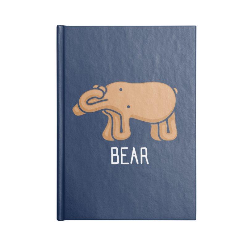 Bear (Not an Octopus) Accessories Notebook by Gyledesigns' Artist Shop