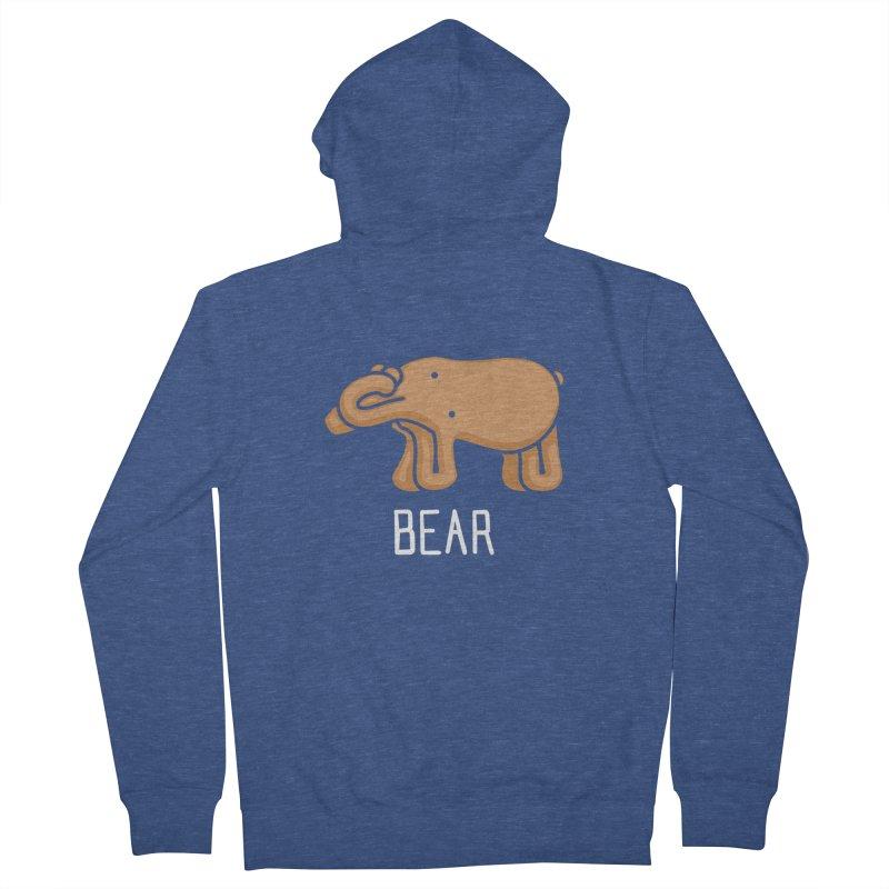 Bear (Not an Octopus) Men's Zip-Up Hoody by Gyledesigns' Artist Shop