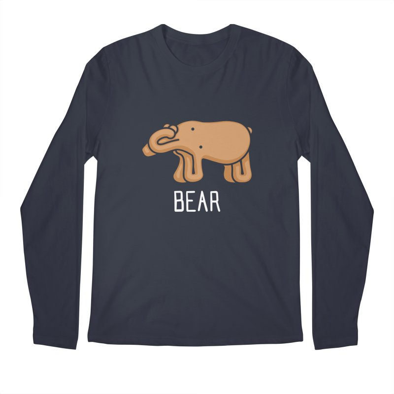 Bear (Not an Octopus) Men's Longsleeve T-Shirt by Gyledesigns' Artist Shop